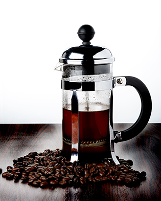 image of French press coffee pot
