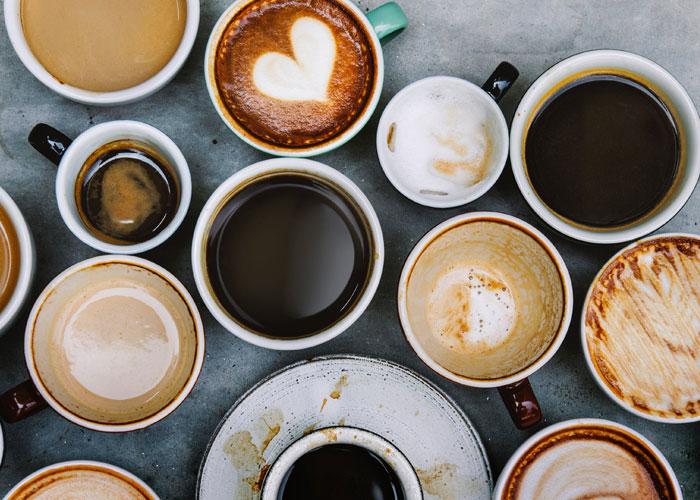 coffee drinking
