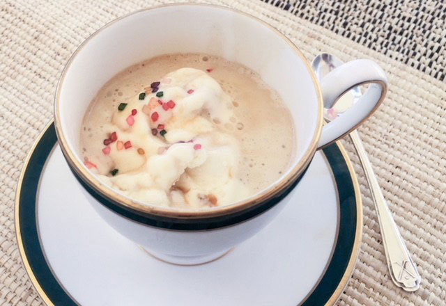 summer coffee drinks affogato