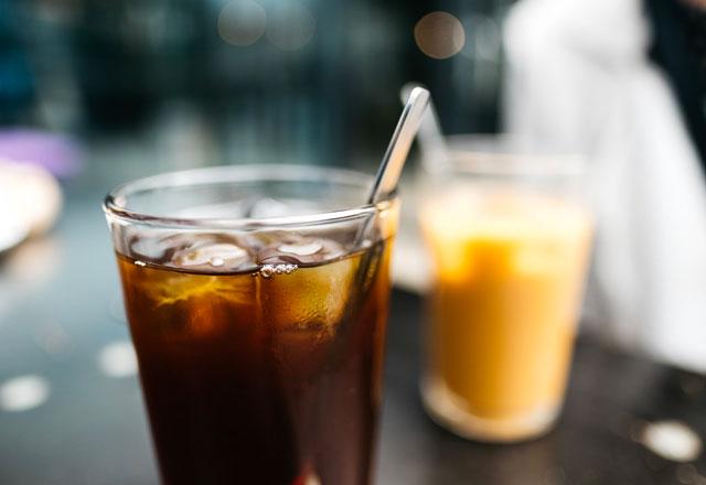 summer iced coffee drinks